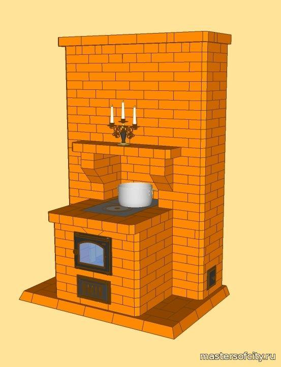 Печь для осетинских пирогов из кирпича порядовка